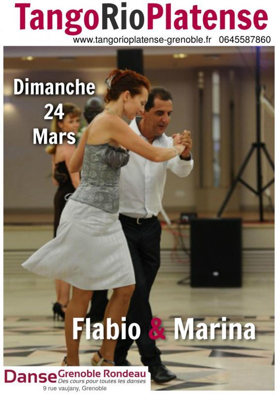 Flabio et Marina 23 mars